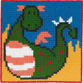 Dragon, kids embroidery