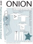 Onion 6018. Raglan-sleeve top and pants for knits.