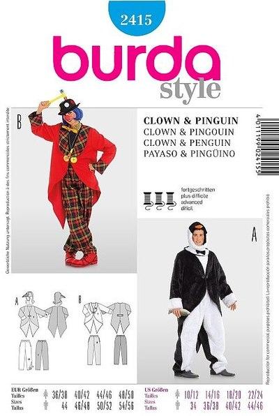 Penguin, Clown