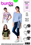Burda 6427. T-shirt, blouse.