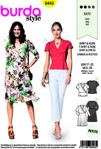 Blouse and dress. Burda 6443.