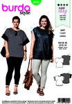 Burda 6445. T-shirt, blouse.
