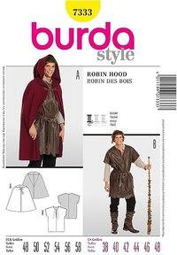 Robin hood. Burda 7333.