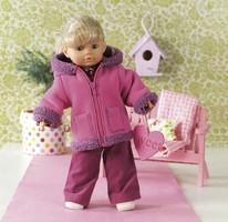 Doll clothes. Burda 7753.