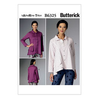 Top with fitted waist. Butterick 6325.