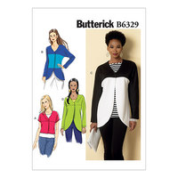 Raglan top. Butterick 6329.