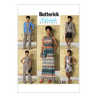 Top. Butterick 6330.