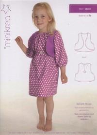 Vest for toddler. Minikrea 20250.