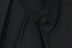 Black patchwork-cotton with discrete pattern