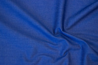 Clear blue denim with stretch