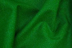 Clear green patchwork-cotton with speckles