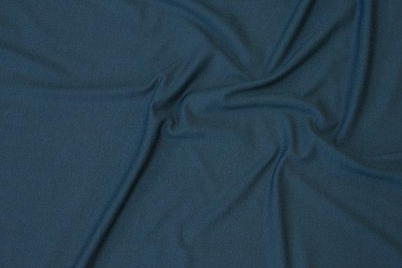 Dark green viscose-jersey