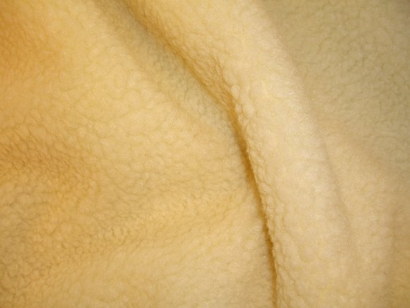 Fuzzy faux lam skind
