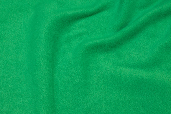 Grass green fleece