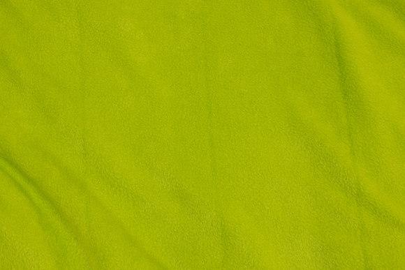 Lime-green fleece