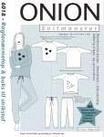 Raglan-sleeve top and pants for knits