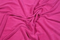Pink stretch terry cloth in beautiful quality