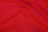 Red opholstry fabric with light structure