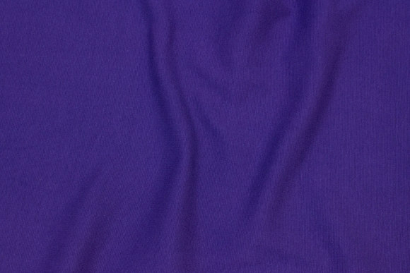 Rib-fabric in dark purple