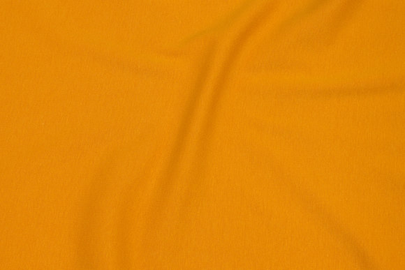 Rib-fabric in dark yellow