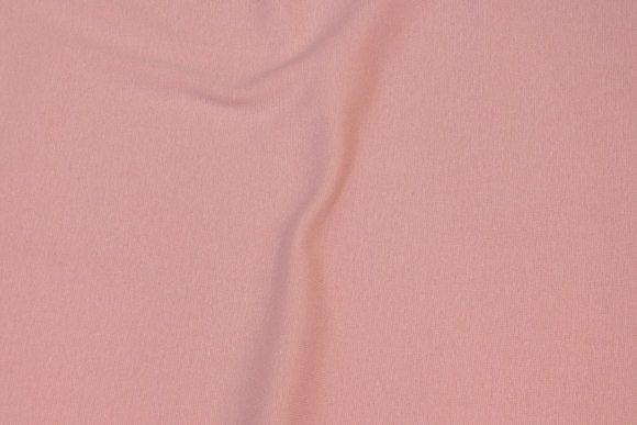 Rib-fabric in delicate old rose