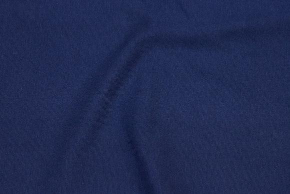 Rib-fabric in navy blue