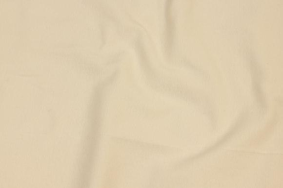Rib-fabric in off white