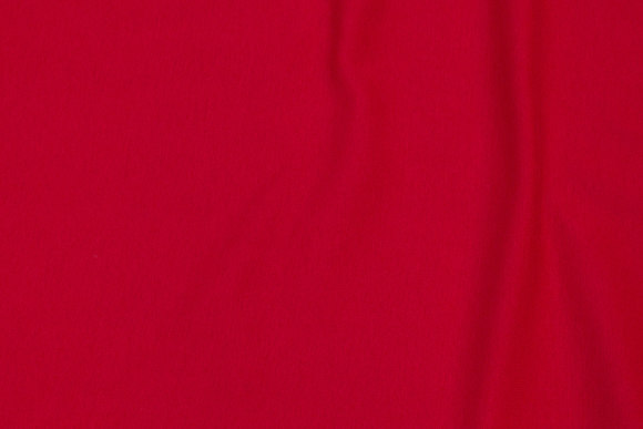 Rib-fabric in red
