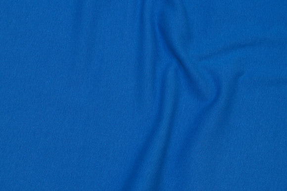 Rib-fabric in soldier-blue
