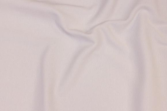 Rib-fabric in white