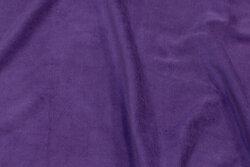 Stretch-velvet in purple
