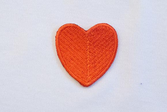 Largish red heart 3x3cm