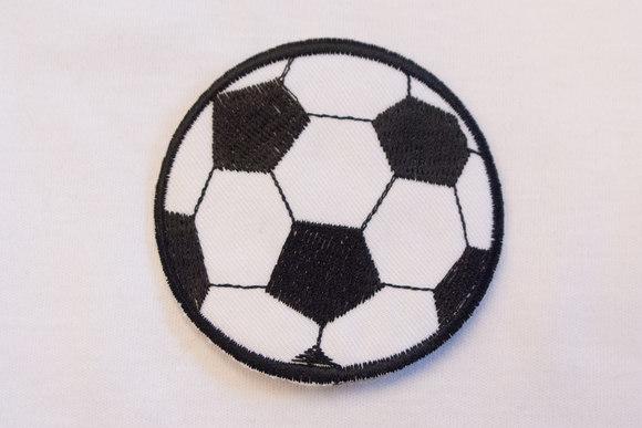 Black football 6,5cm