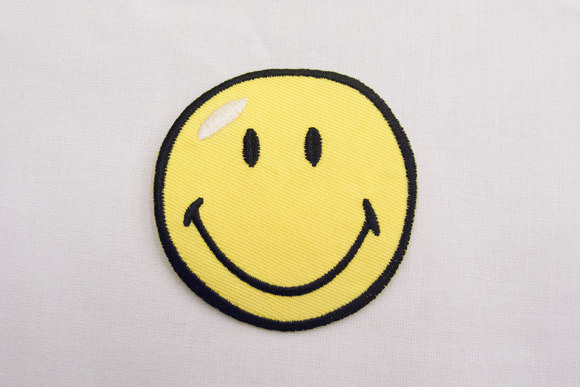 Smiley patch 7cm