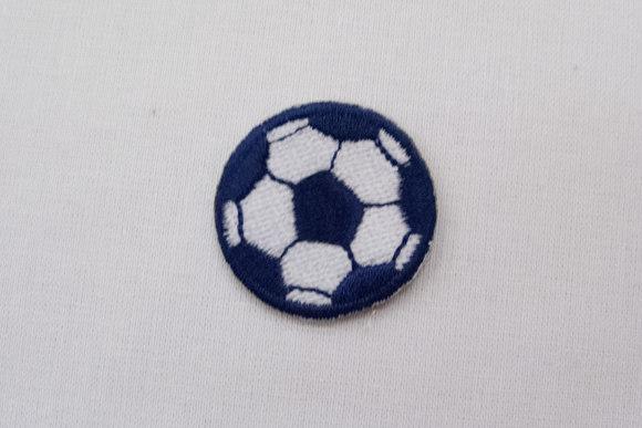 Tiny football navy 3cm