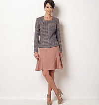 Butterick pattern: Jacket and Skirt