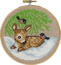 Game, christmas wall embroidery