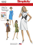 Misses´ and Miss Plus 1960´s Vintage Dresses