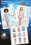 Child´s Dress and Leggings Project Runway Collection
