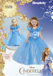 Disney Cinderella Costume for Child and 18inches Doll