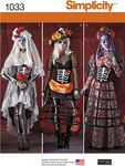 Misses´ Day of the Dead Costumes