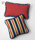 You will find the pillow you´re looking for with this pattern that includes various pillow styles. Sewing Patterns for Dummies.
