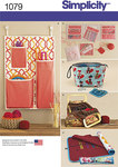 Simplicity 1079. Knitting and Crochet Storage Accessories.
