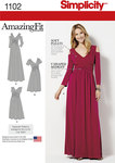 Misses and Plus Size Amazing Fit Dress in Knit