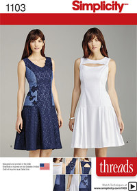 Misses´ Dress with Bodice and Skirt Variations