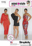 Misses´ Long or Short Jumpsuit from Mimi G