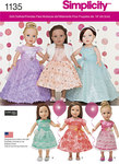 Formal Dresses for 18 inches Dolls