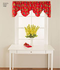 Update your decor with these classic valences and panels. With Sewing Patterns for Dummies, you get special easy to follow instructions, great  for beginners. Simplicity sewing pattern.