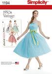 Misses´ and Miss Petite Vintage Dress