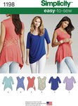 Misses´ Knit Tops in Two Styles